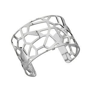 Les Georgettes Giraffe armband large - zilver