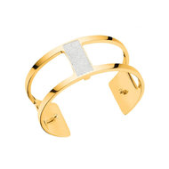 Les Georgettes Barrette armband medium - goud