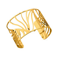Les Georgettes Perroquet armband large - goud