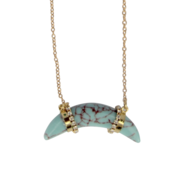 Ruby's Favorite ketting tand - Turquoise